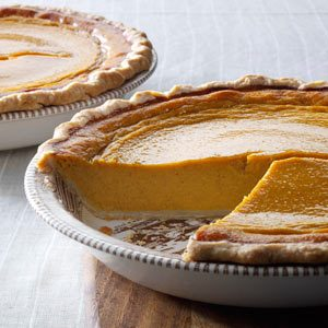 Butternut-Sweet Potato Pie Recipe