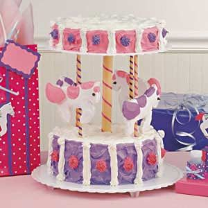 Carousel Cake Recipe