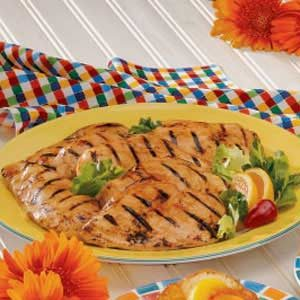 Maple Barbecued Chicken Recipe