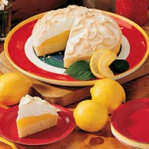 Rich Lemon Meringue Cake Recipe