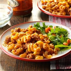 Turkey Taco Macaroni Recipe