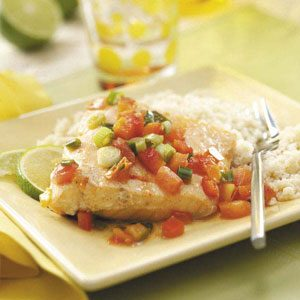 Salmon in Lime Sauce Recipe