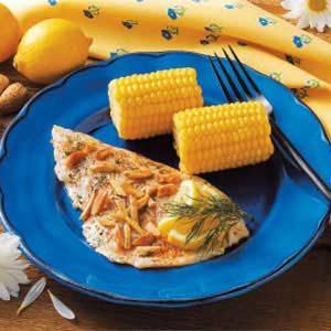 Almond Sole Fillets Recipe