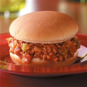 Slow-Cooked Turkey Sloppy Joes Recipe
