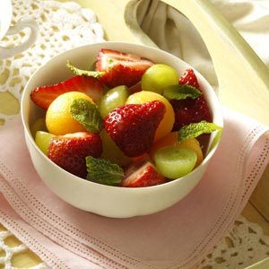 Fruit Cup with Citrus Sauce Recipe