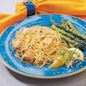 Chicken Spaghetti Toss Recipe