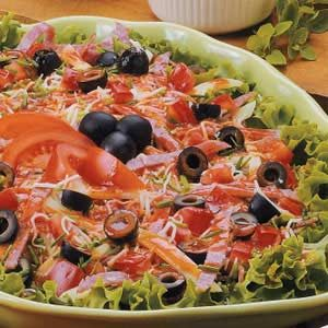 Pizza Antipasto Salad Recipe