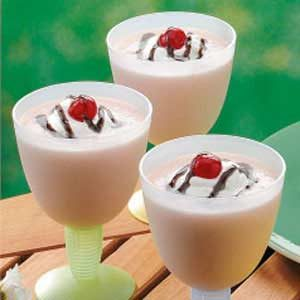 Banana Split Smoothies Recipe