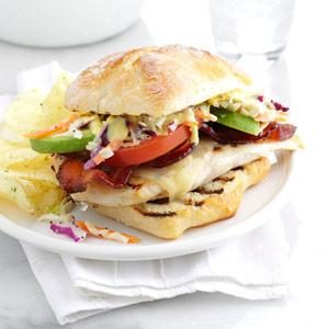 Loaded Grilled Chicken Sandwich Recipe