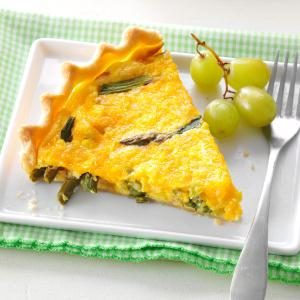 Asparagus & Corn Quiche Recipe