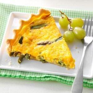 Asparagus & Corn Quiche Recipe