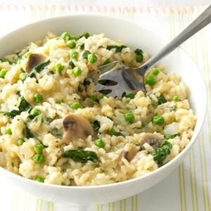 Spring Green Risotto Recipe Taste Of Home