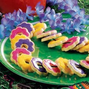Cookie Lei Recipe