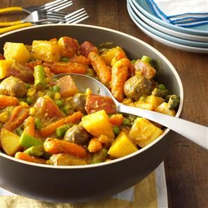 Creamy Curry Vegetable Stew Recipe