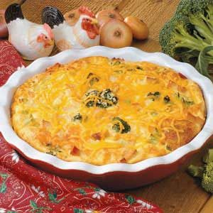 Cheddar Chicken Pie Recipe