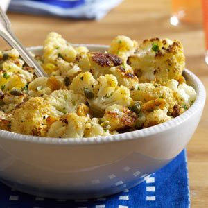 Browned Butter Roasted Cauliflower Recipe photo by Taste of Home