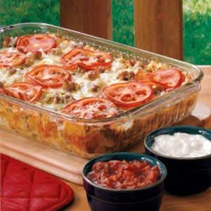 Southwest Sausage Bake Recipe