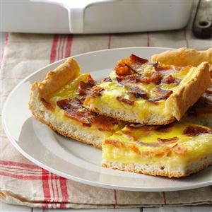 Bacon Swiss Squares Recipe