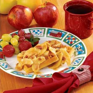 Maple Apple Topping Recipe
