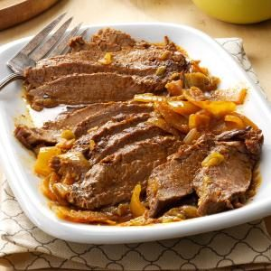 Slow-Cooked Tex-Mex Flank Steak Recipe