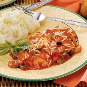 Fish Fillets Italiano Recipe
