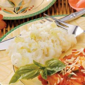 Mashed Potatoes with Cucumber