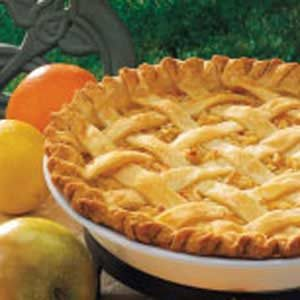 Citrus Apple Pie Recipe