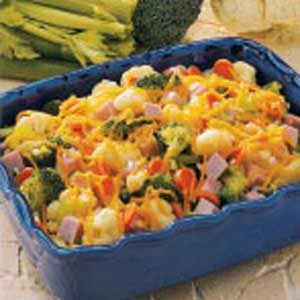Colorful Cheesy Vegetable Medley Recipe