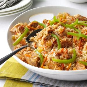 Cajun Pork and Rice Recipe