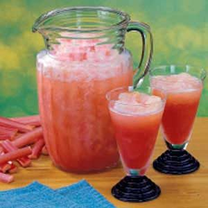 Rhubarb Slush Punch