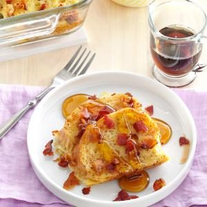 Maple Bacon French Toast Casserole Recipe