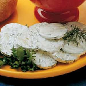 Dilled Cucumbers Recipe