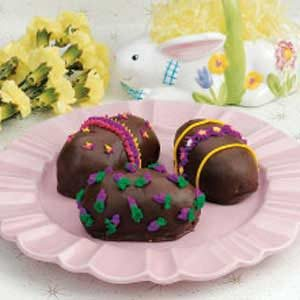 Homemade Chocolate Easter Eggs Recipe