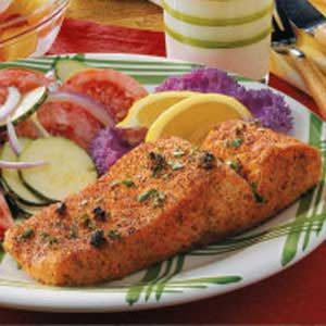 Creole Salmon Fillets Recipe