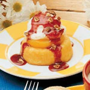 Peach Melba Dessert Recipe