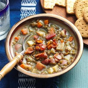 Hearty Vegetable Lentil Soup Recipe