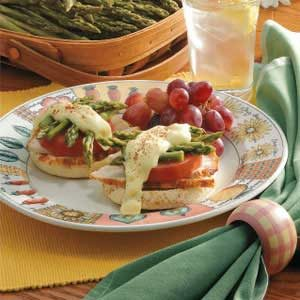 Asparagus Chicken Sandwiches Recipe
