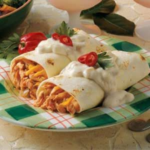 Baked Chimichangas Recipe
