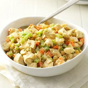 Cashew-Curry Chicken Salad