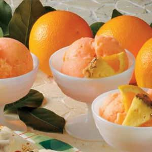 Pineapple Orange Sherbet