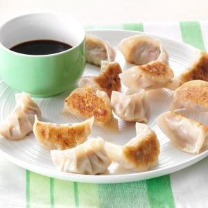 Pork & Chive Pot Stickers Recipe