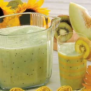Honeydew Kiwi Cooler Recipe