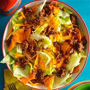 Day 18: Easy Ground Beef Taco Salad