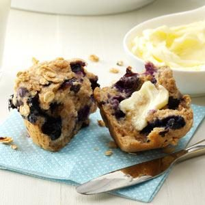 Granola Blueberry Muffins Recipe