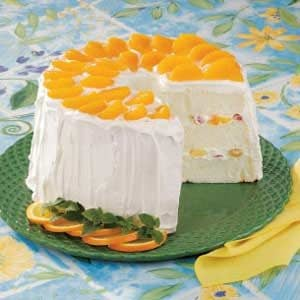 Fruit-Filled Angel Food Torte Recipe