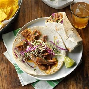 Sweet & Sour Pork Wraps Recipe