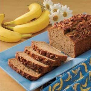 Makeover Banana Nut Bread Recipe