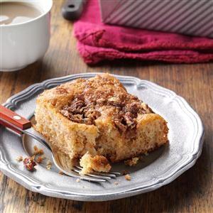 Cinnamon-Sugar Coffee Cake Recipe