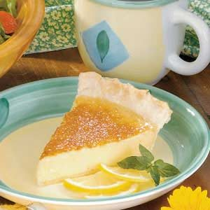 Silky Lemon Pie Recipe