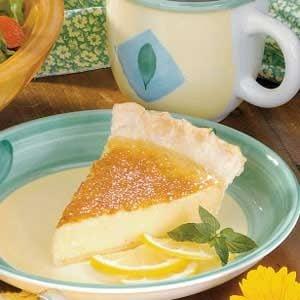 Silky Lemon Pie Recipe